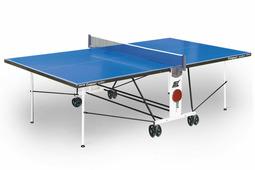 Теннисный стол START LINE Compact Outdoor LX-2 с сеткой, композитный на роликах