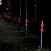Светоотражающая лента RF4550, красная, 50 мм х 45.7 м