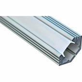 Профиль угловой алюминиевый Feron 2м матовый экран 2 заглушки 4 крепежа для светодиодных лент CAB272 10270
