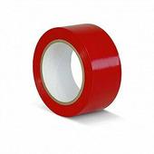 Лента ПВХ для разметки и маркировки, длина 33 м, ширина 150 мм, красная, 0,15 мм {KMSR15033}