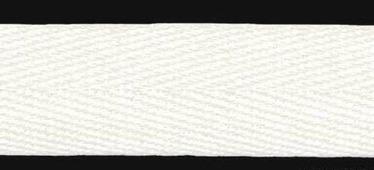 Лента киперная, 18 мм, 50 м, арт. 07-1018 (цвет: белый)