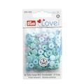 Непришивные кнопки «Color Snaps» мятные 9 мм Prym Love 393500