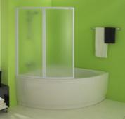 Пластиковая шторка для ванны Kolpa-san Quat TP 108