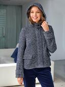 Электронная выкройка Burda - Куртка с капюшоном №110