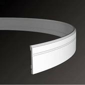 Плинтус напольный из полиуретана Европласт 1.53.103 гибкий