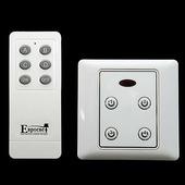 Пульт к светодиодной ленте Eurosvet 99999 Комплект блоков управления с пультом (10 блоков + 1 пульт) белый 201610SCU-1RC