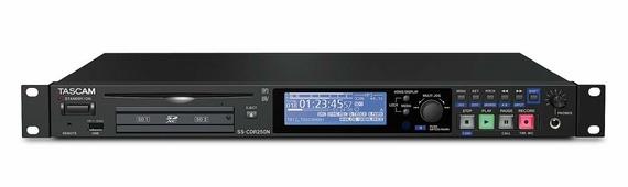 Tascam SS-CDR250N рекордер Wav/MP3 плеер, на CF Card и CD