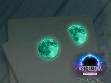 Светящаяся наклейка Луна (50 мм)