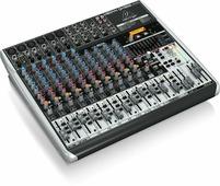 Behringer QX1832USB микшер, 18 каналов, USB/аудио интерфейс, мик предусил и компр, 9 EQ, Multi FX, Klark Teknik