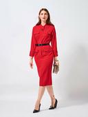 Электронная выкройка Burda - Платье с рукавами «летучая мышь» №120