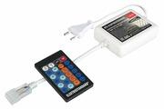 Пульт к светодиодной ленте Контроллер Контроллер одноцветный с радио пультом (24 кнопки) LSC 002 220V 3,5A 720W IP44