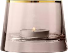 Подсвечник Lsa International Light, цвет: коричневый, высота 6,5 см