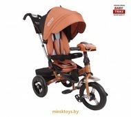 Детский трехколесный велосипед с ручкой Baby Trike Premium ORIGINAL 2019 (Бронза)