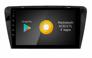 Штатная магнитола Roximo S10 RS-3201 для Skoda Octavia A7 (Android 9.0)