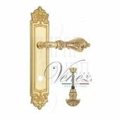 Дверная ручка на планке Venezia Florence PL96 полированная латунь wc-4