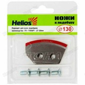 Ножи для ледобура тонар HELIOS полукруглые, 130мм, 2шт (для левого вращения)