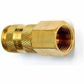 """Быстроразъем пневматический с клапаном с внутренней резьбой 1/2"""" (латунь) Forsage (frs-BSE1-4SF)"""