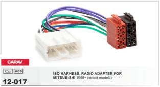 CARAV 12-017 - ISO-переходник для Mitsubishi 1996-2006