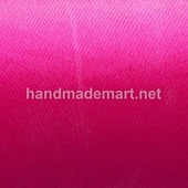 Атласная Лента Skroll, Ширина: 12 мм, Ярко-розовый
