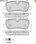Дисковые Тормозные Колодки R Brake R BRAKE арт. RB1661700