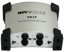 Invotone DB1P - пассивный двухканальный директ бокс, цвет серебрянный