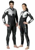 Женский длинный гидрокостюм для дайвинга Waterproof W4 5mm Women