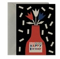 "Открытка ""Happy Birthday - vase"" C6"