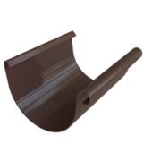 Желоб водосточный Альта-Профиль Элит D-125, Коричневый, 3м