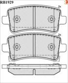Дисковые Тормозные Колодки R Brake R BRAKE арт. RB1929
