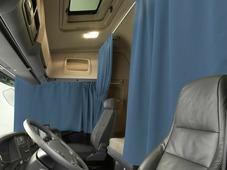 Комплект автоштор Эскар Blackout - auto L, синий, 2 шторы 240 х 100 см, 2 подхвата