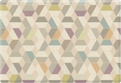 Parklon Pure Soft Развивающий коврик Космос Зигзаги
