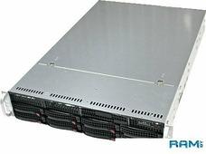 Корпус Supermicro SuperChassis 825TQ-R740LPB 740W