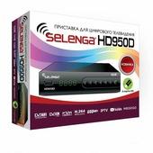 DVB-T2 цифровая приставка Selenga HD950D
