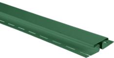 H профиль (соединительная планка) для сайдинга Альта-Профиль Зеленый