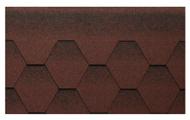 Гибкая битумная черепица Kerabit K+ Красно-черный