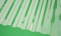 Поликарбонат профилированный Юг-Ойл-Пласт Прозрачный 0,8 мм (трапеция)