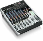 """Behringer Q1204USB аналоговый микшер с USB/аудио интерфейсом, XENYX микрофонными предусилителеми и компрессорами, """"British"""" эквалайзером, 8 каналов"""