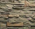 Декоративный искусственный камень Феодал Каменистый пласт 01.13 Оливковый