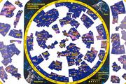 Пазл Гео-Магнит Карта созвездий северного полушария 99 шт.
