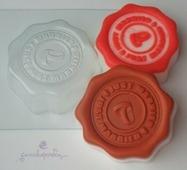 Печать Just Married, форма для мыла пластиковая