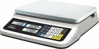 Торговые весы CAS PR-30B LCD с USB