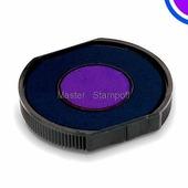 Сменная штемпельная подушка GRM R40/22 сине-фиолетовая