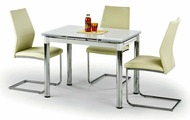 Обеденный стол Halmar Logan 2 (серый)