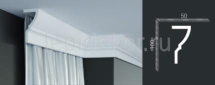 Потолочный плинтус для скрытого освещения Tesori Карниз P 891 (2,0м)
