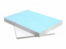 Сэндвич-панель ПВХ Тепло Плюс 0,6/32мм, 3000х1500мм, двухсторонняя, белая