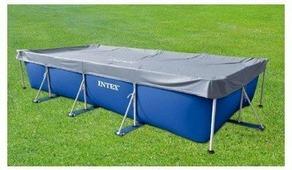 INTEX 28039 тент на каркасный бассейн 460*226 см
