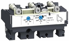 431431 TM200D Термомагнитный расцепитель 3-полюсный 200А для NSX250 Schneider Electric, LV431431