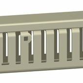 Кабель-канал 50х75х2000 мм, серый (1упак-8 шт.) Schneider Electric, AK2GD5075