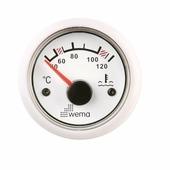 Индикатор температуры охлаждающей жидкости Wema IPTR-WW-40-120 300 - 23 Ом 12/24 В