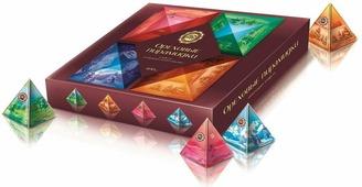 Микаелло Ореховые пирамидки орехи и сухофрукты в шоколадной глазури, 400 г